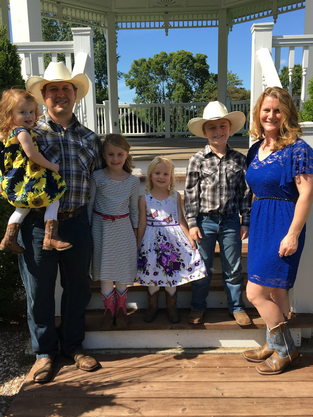 Joshua & Kayla Treml & Family